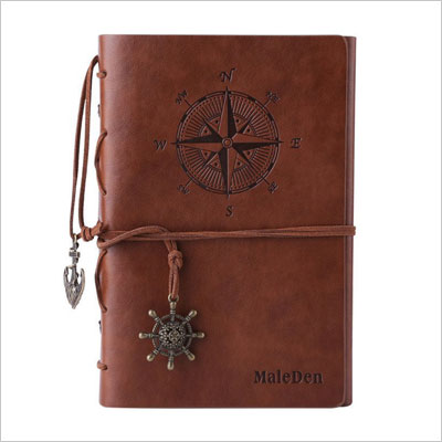 Vintage Refillable Journey Diary