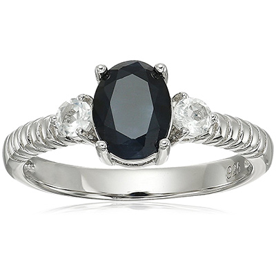 amazon collection sapphire topaz ring