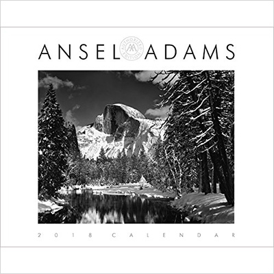ansel adams wall calendar