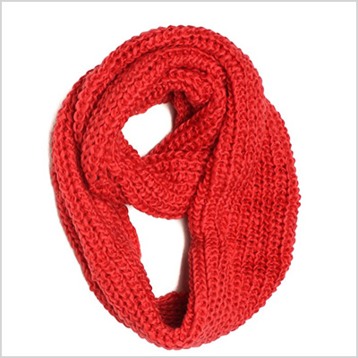 dry77 knitted loop scarf
