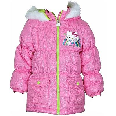 hello kitty girls puffer jacket