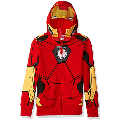 marvel iron man hoodie