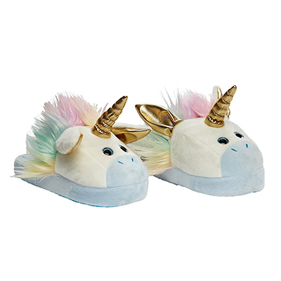 stompeez unicorn slippers