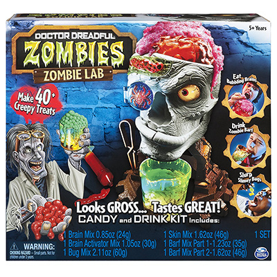 dr dreadful zombie lab
