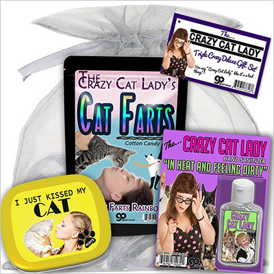 Crazy Cat Lady Triple Crazy Deluxe Gift Set