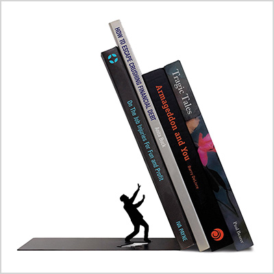 fred and friends bookends for textbooks