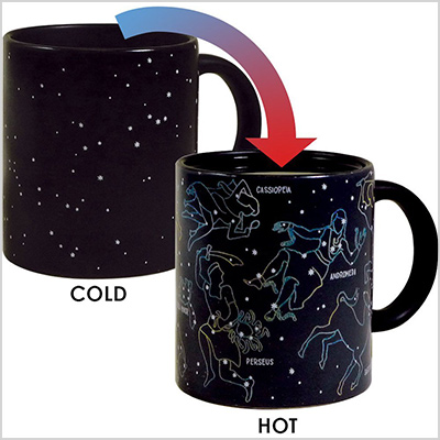 heat activated constellation mug