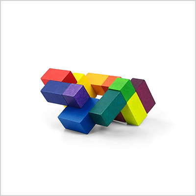 playableart cube compact packaging