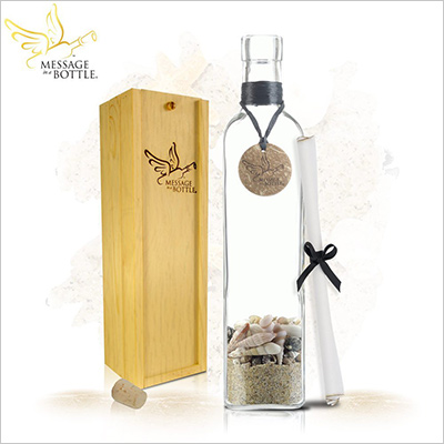 "Message In A Bottle ""LEGEND"" Personalized Gift for Him"