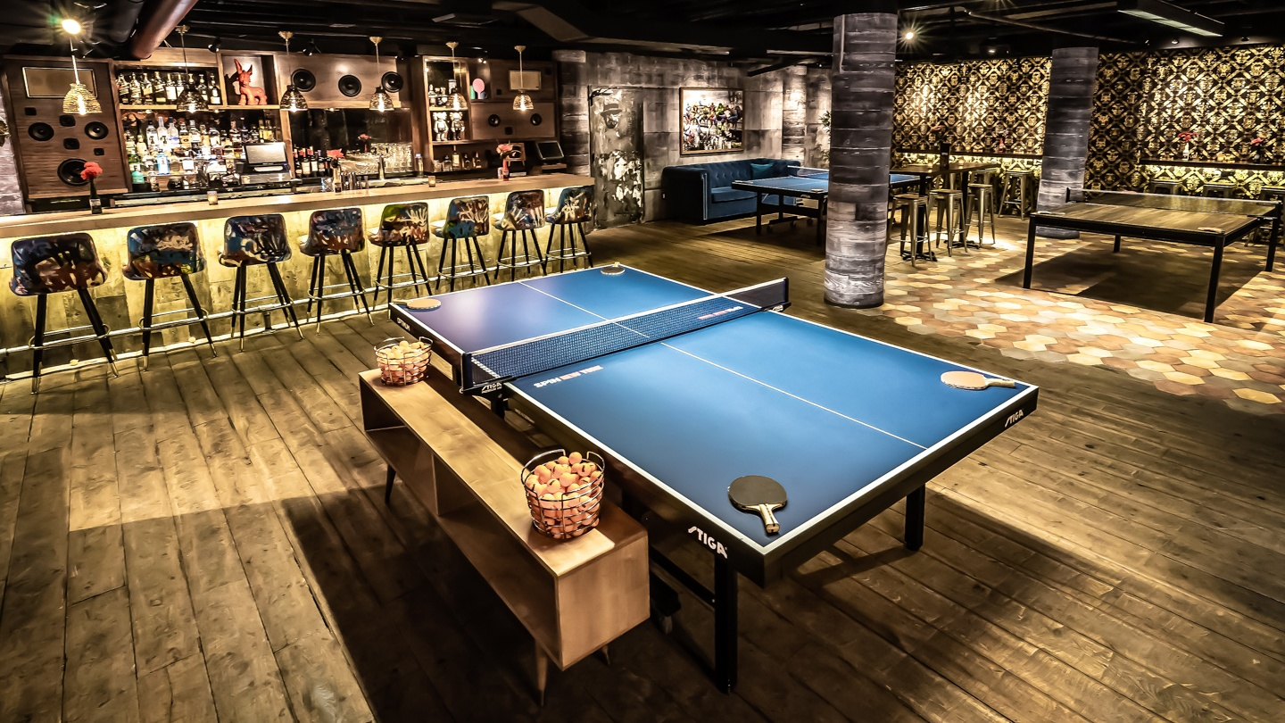 Drinks & Table Tennis at Spin New York