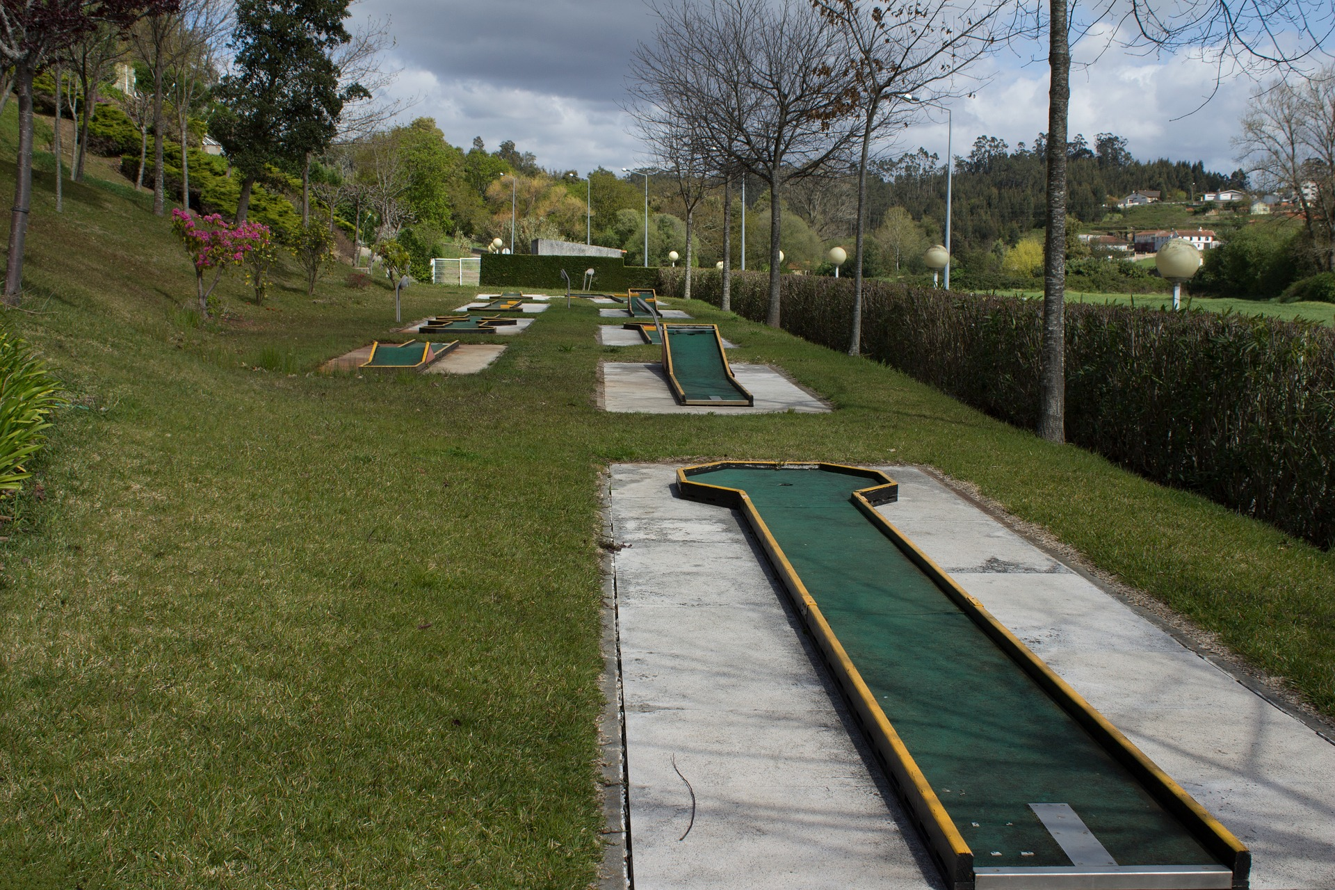 Mini golf Playground