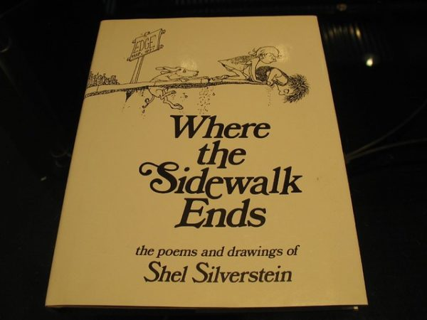 Where the sidewalk ends book of poems by Shel Silverstein